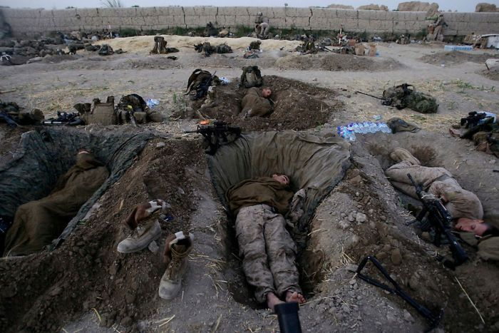 Солдаты разных стран