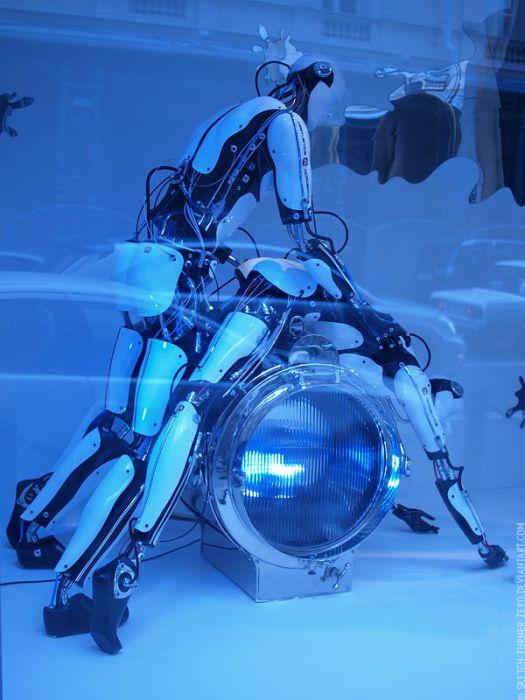 Смотреть секс с роботами 23 фотография